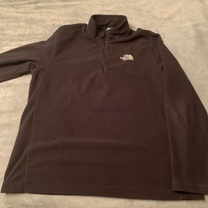 Women's North Face 3/4 Zip fleece.